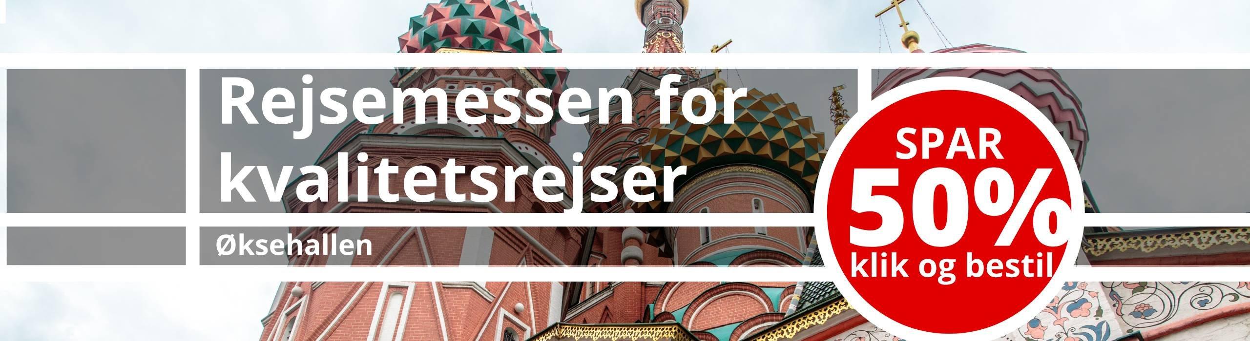 Alt Rejser deltager i år på Rejsemessen for Kvalitetsrejser i Øksnehallen den 19-20. oktober 2019.