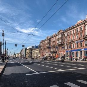 Nevskij Prospekt – Skt. Petersborgs Champs Elysées