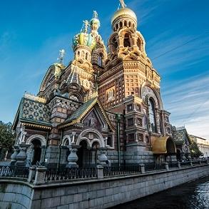 Pakkerejse til Skt. Petersborg