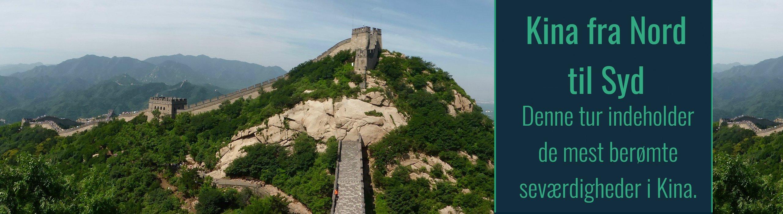 Rundrejser i Kina<br>