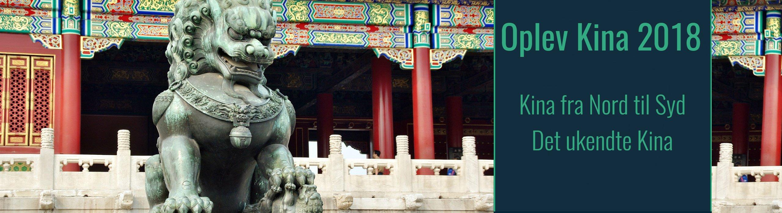 Rejser til Kina 2018