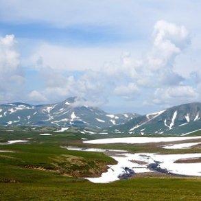 Bjørne og varme kilder i Kamchatka