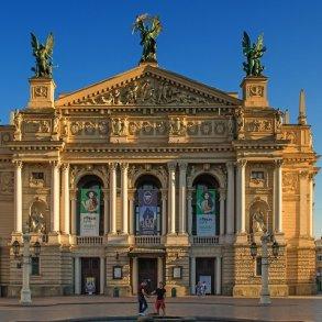 Kiev og Lviv