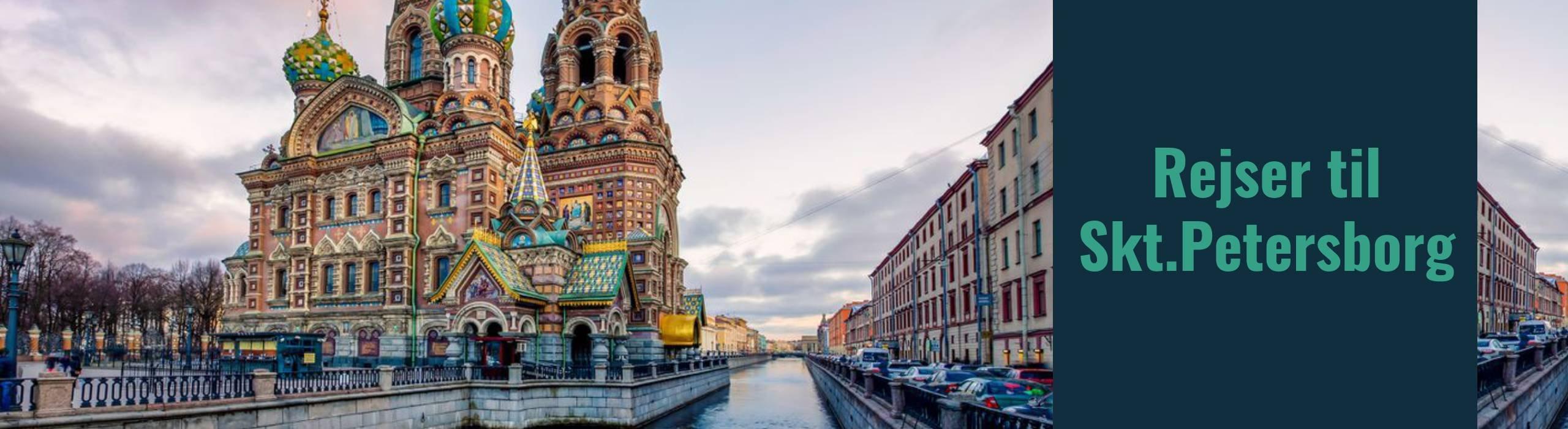 Rejser til Skt Petersborg