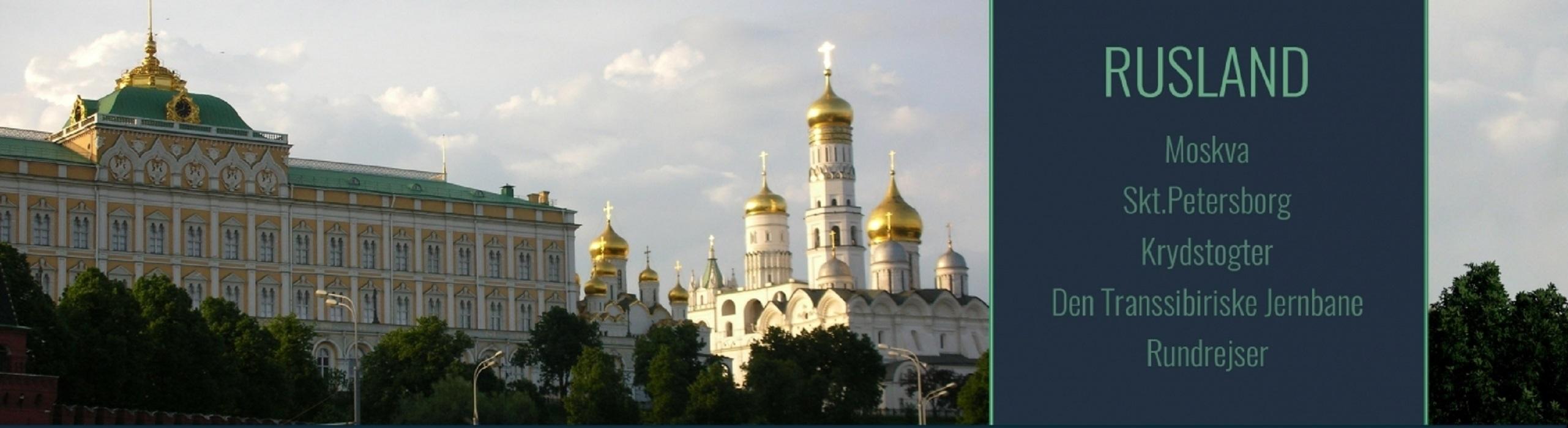 Rejser til Rusland<br>