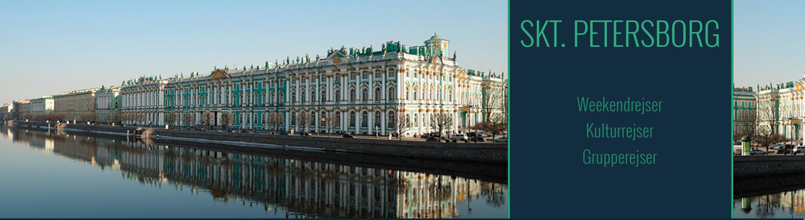 Rejser til Skt. Petersborg<br>