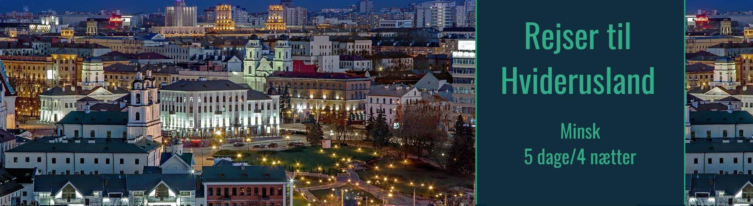 Rejser til Hviderusland<br>