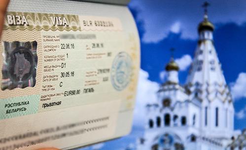 visum til Hviderusland Belarus