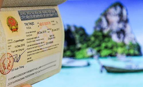 visum til Vietnam