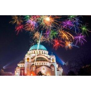 Nytår i Beograd - Serbien