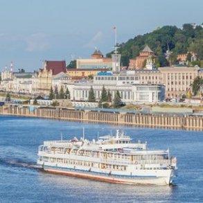 Krydstogt mellem Moskva og Astrakhan