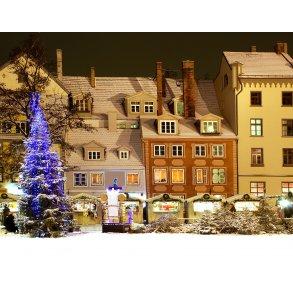 Nytår i Riga - Letland