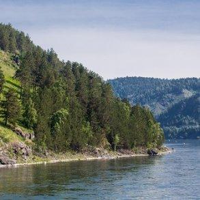 Krydstogt på Jenisej floden