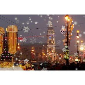 Nytår i Skt. Petersborg - Rusland